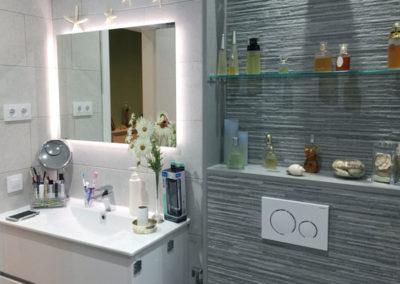 Reforma de baño en Gracia. Barcelona