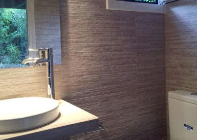 Reforma de baño en el Eixample . Barcelona