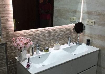 Reforma de baño en las Ramblas. Barcelona